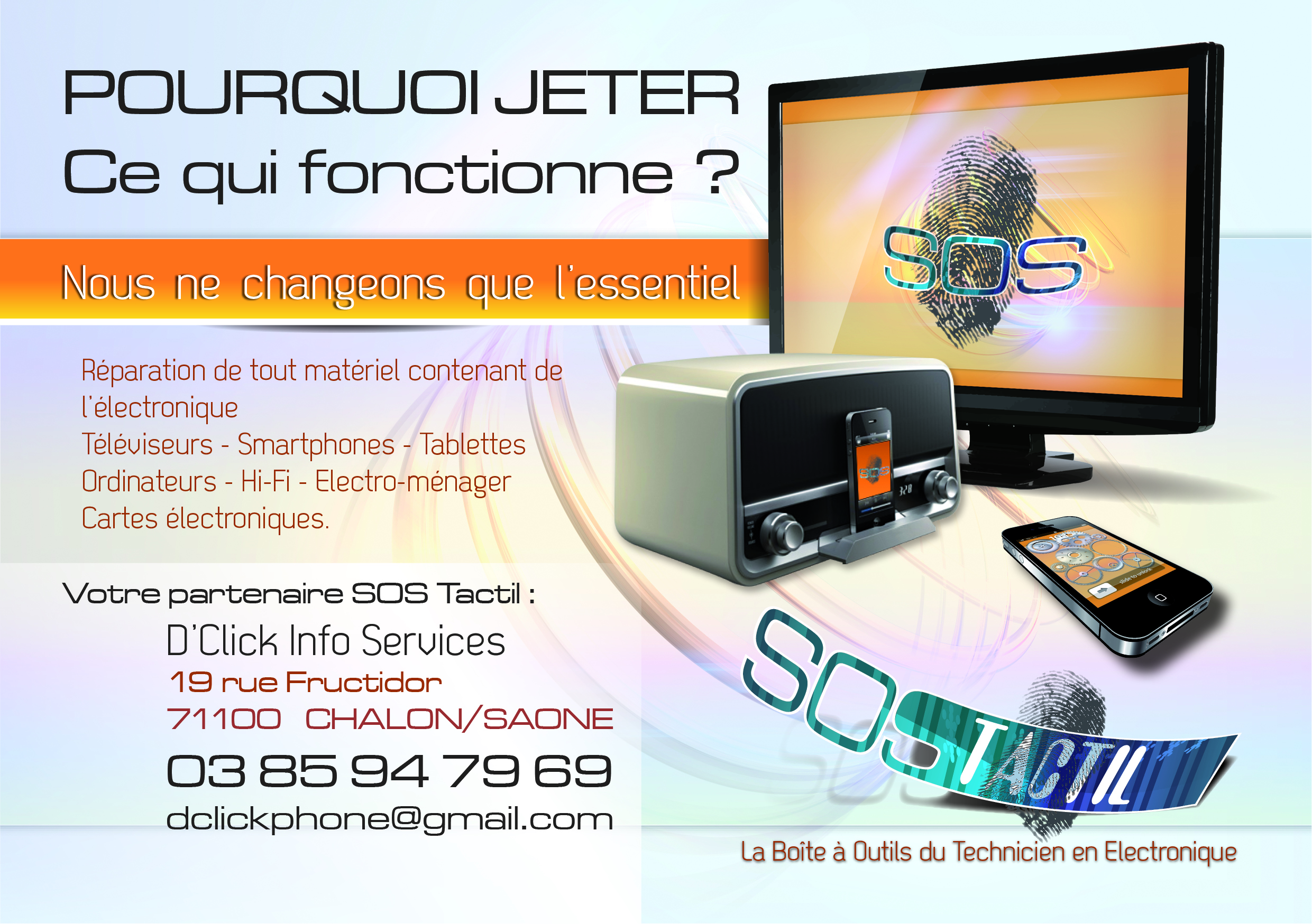 Flyer D'Click Info Services