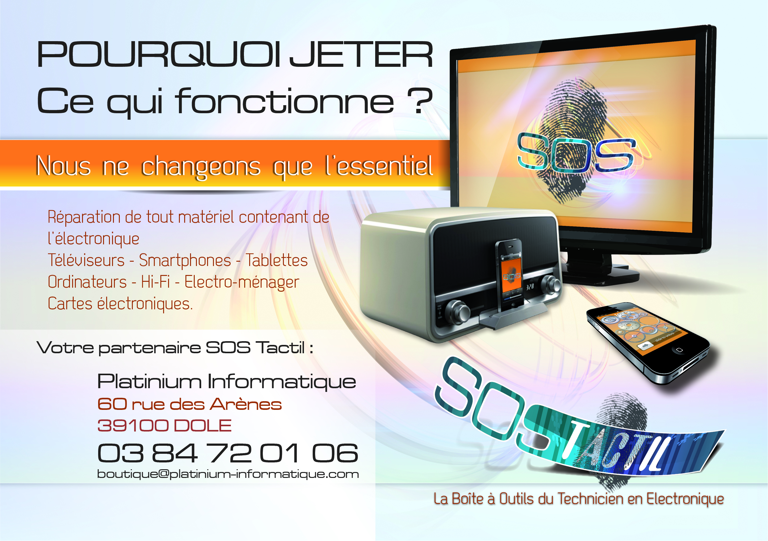 Flyer Platinium Informatique